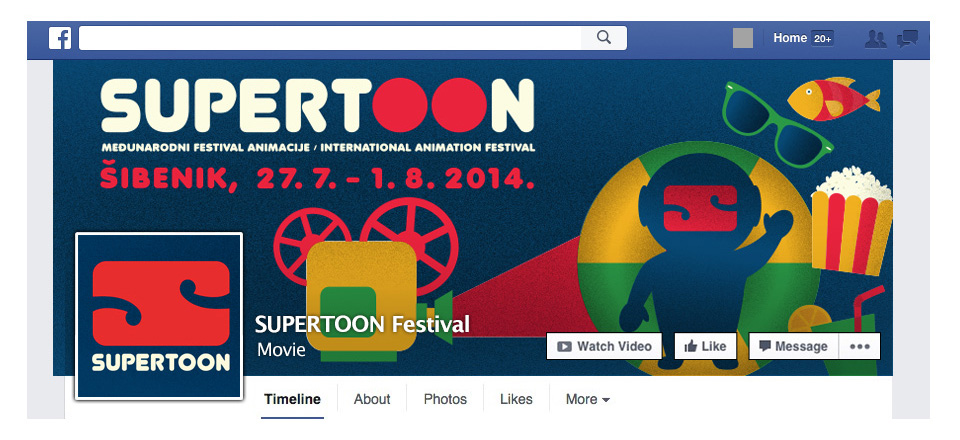 SUPERTOON FILM FESTIVAL 2014: VIZUALNI IDENTITET