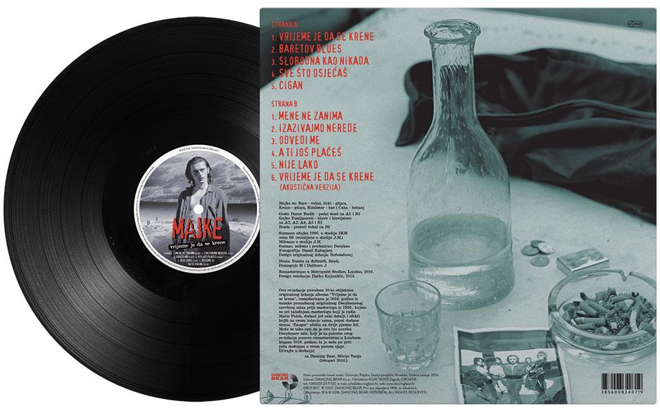 MAJKE – VRIJEME JE DA SE KRENE: REDIZAJN IZDANJA (LP, 3XCD BOX SET)