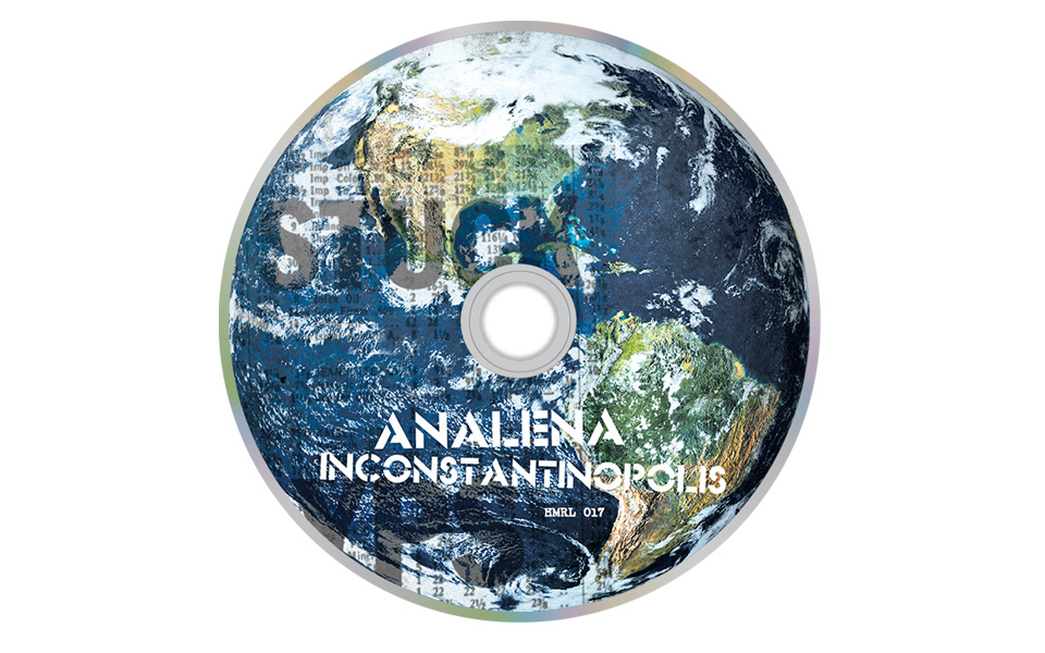 ANALENA – INCONSTANTINOPOLIS — LP, CD, TOUR POSTER, MERCH (DESIGN)